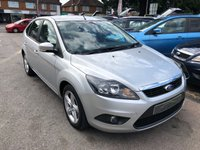 USED 2010 10 FORD FOCUS 1.6 ZETEC TDCI 5d 109 BHP GREAT SPEC AND ECONOMY, AIR CONDITIONING, SUPPLIED WITH A  NEW MOT