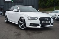 2012 AUDI A4 2.0 TDI BLACK EDITION 4d 141 BHP £9395.00