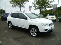 USED 2013 13 JEEP COMPASS 2.1 CRD LIMITED 4WD 5d 161 BHP FULL LEATHER, HEATED SEATS, CRUISE CONTROL, PRIVACY GLASS,