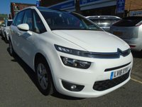 USED 2016 16 CITROEN C4 GRAND PICASSO 1.6 BLUEHDI VTR PLUS 5d AUTO 118 BHP ULEZ EXEMPT 1 OWNER, 21,000 MILES