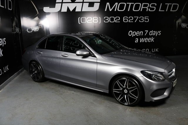2014 MERCEDES-BENZ C CLASS C220 BLUETEC AMG LINE NIGHT EDITION STYLE 170 BHP (FINANCE AND WARRANTY)