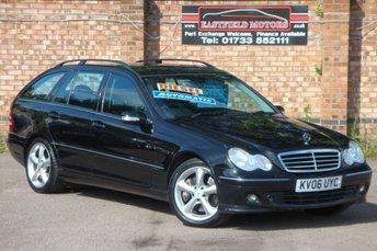 2006 MERCEDES-BENZ C CLASS 2.1 C220 CDI AVANTGARDE SE 5d AUTO 148 BHP £2990.00