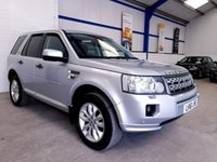 USED 2012 61 LAND ROVER FREELANDER 2 2.2 SD4 HSE 5d AUTO 190 BHP