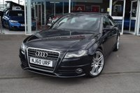 USED 2010 60 AUDI A4 2.0 TDI S LINE SPECIAL EDITION 4d 141 BHP FINANCE TODAY WITH NO DEPOSIT