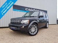 USED 2013 63 LAND ROVER DISCOVERY 4 3.0 4 SDV6 HSE 5d AUTO 255 BHP