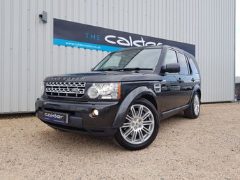 2013 LAND ROVER DISCOVERY 4 3.0 4 SDV6 HSE 5d AUTO 255 BHP £19975.00