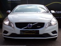 USED 2011 11 VOLVO S60 1.6 DRIVE R-DESIGN S/S 4d 113 BHP WHITE No Deposit Finance & Part Ex Available