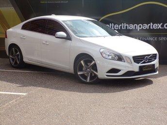 2011 VOLVO S60 1.6 DRIVE R-DESIGN S/S 4d 113 BHP WHITE £6250.00
