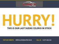 USED 2015 15 SUZUKI CELERIO 1.0 SZ3 5d  LOW INSURANCE, ZERO ROAD TAX  NO DEPOSIT ECP/PCP/HP FINANCE ARRANGED, APPLY HERE NOW