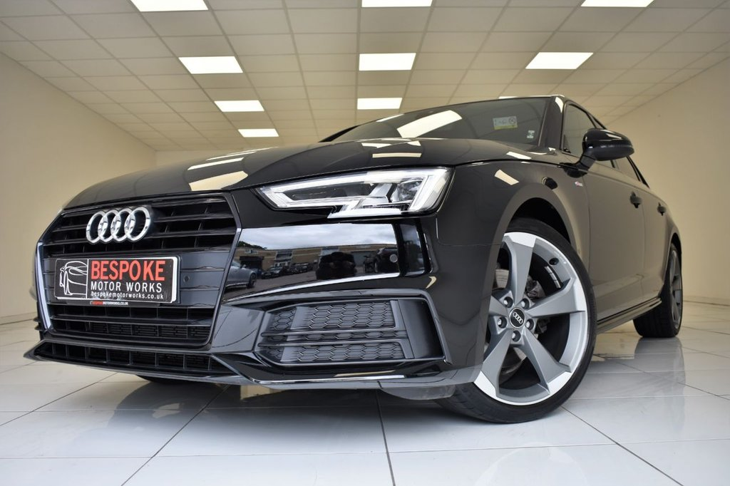 USED 2017 67 AUDI A4 1.4 TFSI BLACK EDITION S-TRONIC