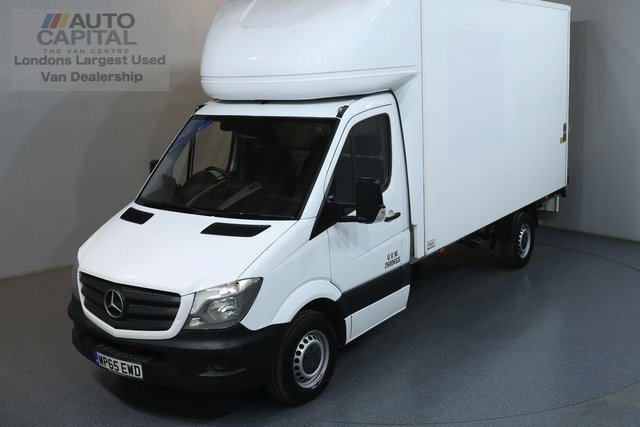 2015 65 MERCEDES-BENZ SPRINTER 2.1 313 CDI LWB 129 BHP RWD LUTON AIR CONDITION