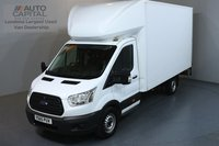 USED 2015 65 FORD TRANSIT 2.2 350 L4 EXTRA LWB 124 BHP LUTON ONE OWNER FROM NEW