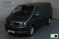 USED 2018 18 VOLKSWAGEN TRANSPORTER 2.0 T28 TDI TRENDLINE 101 BHP SWB EURO 6 ENGINE  AIR CON, REAR PARKING SENSORS