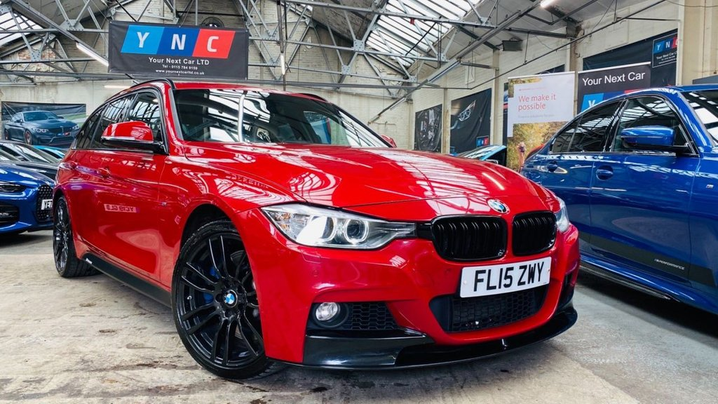 USED 2015 15 BMW 3 SERIES 3.0 335d M Sport Touring Sport Auto xDrive (s/s) 5dr PERFORMANCEKIT+19S+MPLUSPACK