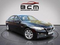2014 BMW 5 SERIES 2.0 520D SE 4d AUTO 181 BHP £10485.00