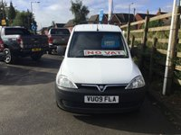 USED 2009 09 VAUXHALL COMBO VAN 1.3 CDTI Diesel Great Value Panel Van with NO VAT TO PAY SO SAVE 20% PREVIOUSLY LOCALLY OWNED