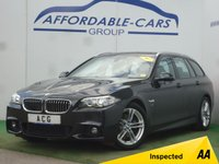 USED 2015 15 BMW 5 SERIES 2.0 520D M SPORT TOURING 5d AUTO 188 BHP