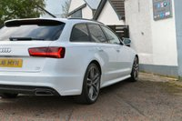 USED 2016 16 AUDI A6 2.0 AVANT TDI ULTRA BLACK EDITION 5d AUTO 190 6 MONTHS RAC WARRANTY FREE + 12 MONTHS ROAD SIDE RECOVERY!