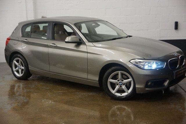 2015 15 BMW 1 SERIES 1.5 116D SE 5d AUTO 114 BHP SAT NAV REVERSE CAMERAS DEPOSIT TAKEN FULL LEATHERS