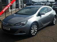 USED 2013 13 VAUXHALL ASTRA 2.0 GTC SRI CDTI S/S 3d 162 BHP NO DEPOSIT AVAILABLE, DRIVE AWAY TODAY!!