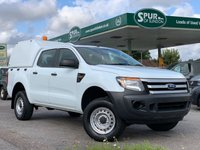 USED 2013 63 FORD RANGER XL DOUBLE CAB 2.2  Good Service History, One Owner, Air Con, Truckman Top.