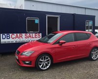 2013 SEAT LEON 2.0 TDI FR 5d 150 BHP £6795.00