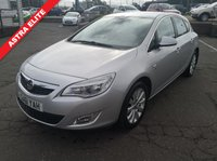 USED 2011 61 VAUXHALL ASTRA 2.0 ELITE CDTI S/S 5d 163 BHP NO DEPOSIT AVAILABLE, DRIVE AWAY TODAY!!