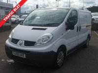 USED 2009 09 RENAULT TRAFIC 2.0 SL27 DCI 115 SWB 1d 115 BHP NO DEPOSIT AVAILABLE, DRIVE AWAY TODAY!!