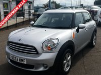 USED 2013 62 MINI COUNTRYMAN 1.6 COOPER D ALL4 5d 112 BHP NO DEPOSIT AVAILABLE, DRIVE AWAY TODAY!!