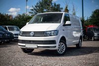 USED 2019 68 VOLKSWAGEN TRANSPORTER T30 TDI HIGHLINE SWB DSG (AUTO) GEARBOX 150 BLUEMOTION EURO 6 Sat Nav (Discovery Media Unit), Electric Folding Mirrors, Single Seats, Cab Carpet, Heated Rear Window and Wash Wipe.