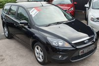 USED 2009 59 FORD FOCUS 1.6 ZETEC 5d AUTO 100 BHP AUTO - Very Low Miles - 8 Ford Service Stamps