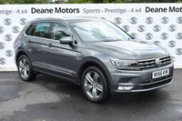 USED 2016 66 VOLKSWAGEN TIGUAN 2.0 SEL TDI BMT 4MOTION DSG 5d AUTO 148 BHP HEADS UP