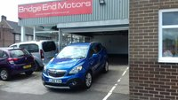 USED 2016 16 VAUXHALL MOKKA 1.4 SE 5d AUTO 138 BHP ONLY 7433 MILES FROM NEW AND AUTOMATIC! GREAT SPEC SE MODEL WITH HEATED SEATS/STEERING WHEEL, LEATHER INTERIOR, CRUISE CONTROL, PARKING SENSORS, AIRCON/CLIMATE CONTROL, ALLOY WHEELS, PRIVACY GLASS, LEATHER TRIM, MEETS ALL LARGE CITY EMISSION STANDARDS.