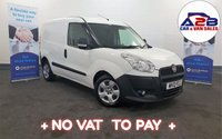 2012 FIAT DOBLO 13 16V MULTIJET   90 BHP  +NO VAT TO PAY+, Reversing Sensors, Front Fogs, 87757 Miles, Electric Windows..... £3480.00