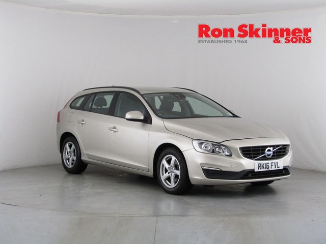 View our 2016 16 VOLVO V60 2.0 D2 BUSINESS EDITION 5d 118 BHP