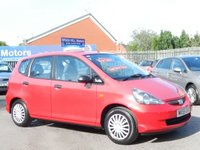 USED 2005 55 HONDA JAZZ 1.2 DSI S 5d 76 BHP .....TWO OWNERS. SERVICE HISTORY. NEW MOT. BEAUTIFUL CONDITION.