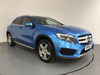 2015 MERCEDES-BENZ GLA-CLASS 2.1 GLA 200 D AMG LINE EXECUTIVE 5d AUTO 134 BHP £15800.00
