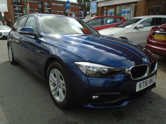 2016 16 BMW 3 SERIES 2.0 320D ED PLUS TOURING 5d AUTO 161 BHP ULEZ EXEMPT