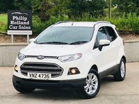USED 2015 FORD ECOSPORT 1.0 ZETEC 5d 124 BHP Appearance pack, Rear parking sensors, Spare wheel