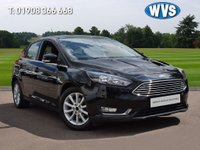 USED 2015 65 FORD FOCUS 1.5 TITANIUM TDCI 5d 118 BHP FREE to tax and very economical December 2015 Ford Focus 1.5tdci Titanium 5dr in black with just 21000 miles. 1 owner with service history and 2 keys.