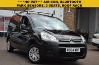 USED 2015 64 CITROEN BERLINGO 1.6 850 ENTERPRISE L1 HDI 1d 89 BHP NO VAT to add to this 2015 Citroen Berlingo 850 Enterprise 1.6hdi in black with AIR CON, 3 SEATS, PARK SENSORS, ROOF RACK AND ELECTRIC WINDOWS. 3 service stamps and 2 keys.