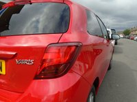 USED 2016 16 TOYOTA YARIS 1.3 VVT-I ICON 3d 99 BHP ULEZ EXEMPT 1 OWNER, 10,000 MILES