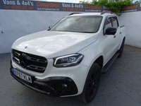 USED 2017 67 MERCEDES-BENZ X CLASS 2.3 X250 D 4MATIC POWER 4d AUTO 188 BHP MERCEDES X CLASS POWER BLACK EDITION WITH LOW MILES ..