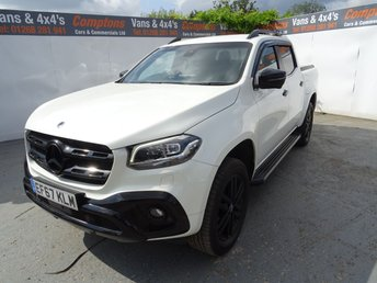 View our MERCEDES-BENZ X CLASS