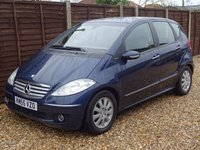 USED 2005 55 MERCEDES-BENZ A CLASS A150 ELEGANCE SE 5DOOR AUTOMATIC *CRUISE*CLIMATE*FULL SERVICE HISTORY*NEW MOT*