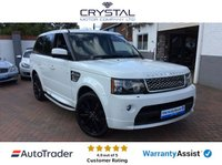 USED 2012 61 LAND ROVER RANGE ROVER SPORT 3.0 SDV6 AUTOBIOGRAPHY SPORT 5d AUTO 255 BHP