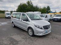 2018 MERCEDES-BENZ VITO 2.1 119 BLUETEC TOURER SELECT 8 SEATER AUTO 190 BHP £20700.00