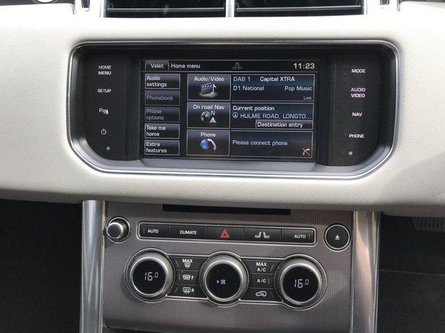 "USED 2015 11 LAND ROVER RANGE ROVER SPORT 3.0 SDV6 HSE 5d AUTO 288 BHP SVR BODY KIT 22"" HAWKE ALLOYS"