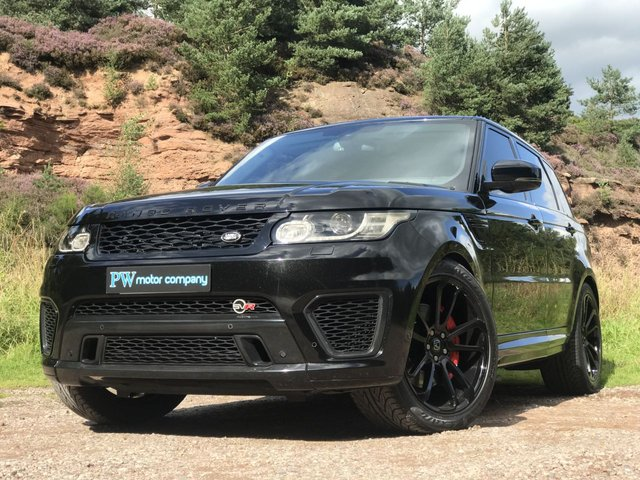 "USED 2015 11 LAND ROVER RANGE ROVER SPORT 3.0 SDV6 HSE 5d AUTO 288 BHP SVR BODY KIT 22"" HAWKE ALLOYS"
