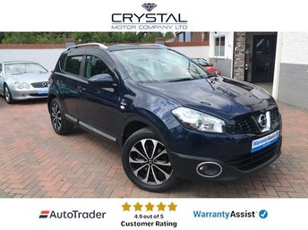 2012 NISSAN QASHQAI 1.6 N-TEC PLUS IS 5d 117 BHP £8295.00